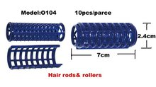 Professional salon hair wave perm rollers and hair rods