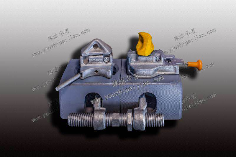 JBHX ISO standard container Fittings bridge clamps with high quality and low price