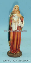 polyresin religious mary home decor