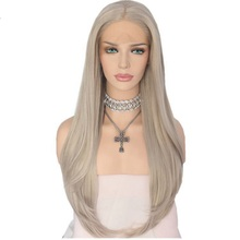 Wholesale cheap $100 silk cap 12 inch 180% density invisible hairline honey blonde human indian remy gray hair full lace wig