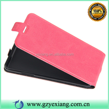 Solid Color Mobile Phone Vertical Leather Case For LG X Power Flip Back Cover