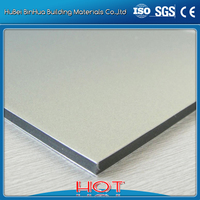 outdoor plastic wall covering ACP / aluminum composite panel suppliers