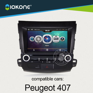 China factory offer OEM Central multimedia For Peugeot 407