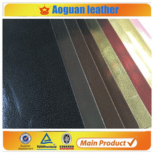 2015 wholesale price leather with free samples of shoes material of baba glitter leather