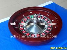 27-Inch Pro Solid Wood High Gloss Finish Roulette Wheel