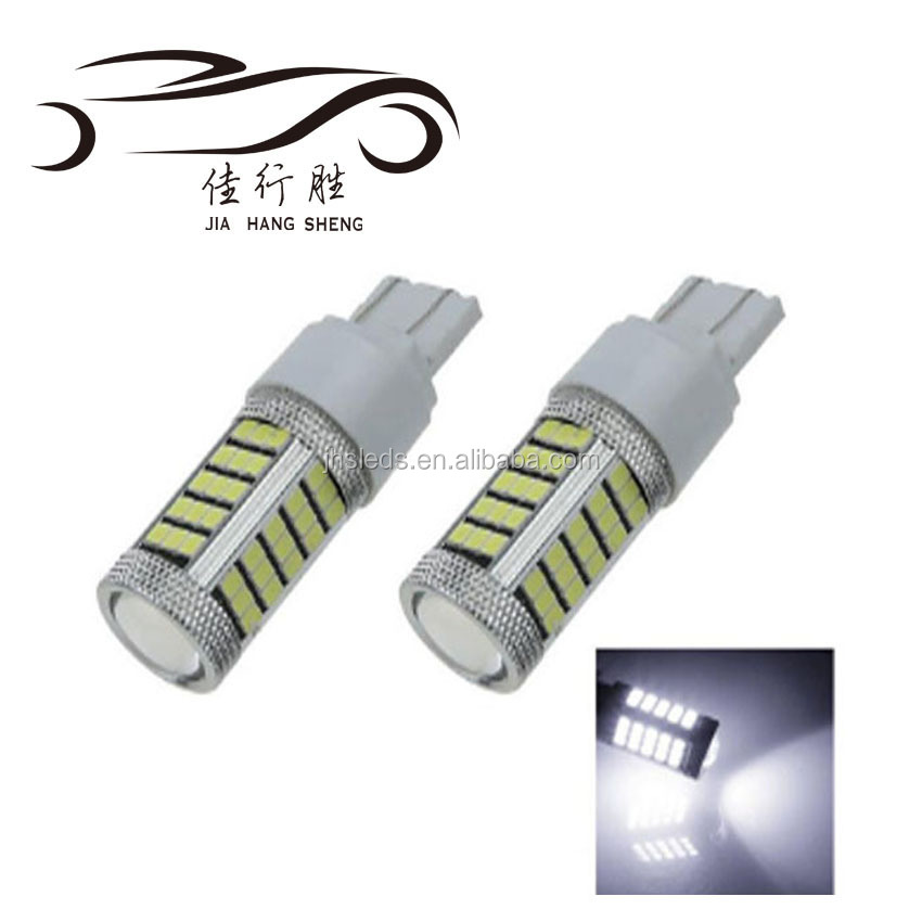 T20 7443 W21/5W 2835 LED Yellow Red White Car Tail Led Bulbs 21/5W Brake Lights auto Fog Lamps Daytime Running Light 12V