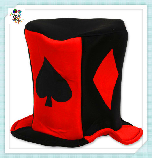 Cheap Adult Playing Cards Fancy Dress Party Hats HPC-1488