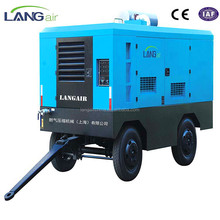 Diesel Engine Driven Mobile Screw Air Compressor Machine,Air Compressors Portable