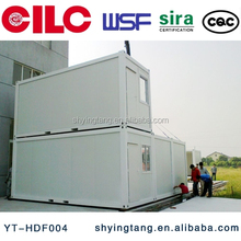 Beautiful prefabricated house for accommodation, tempory living, office, modular container house