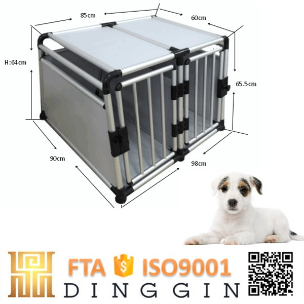 luggage bags aluminum dog crate