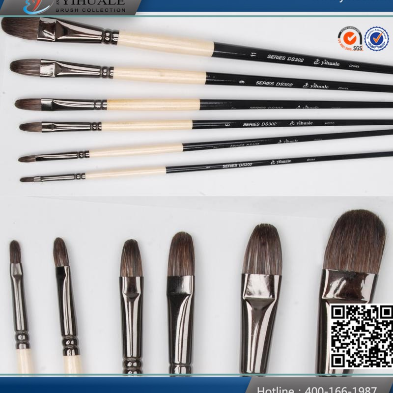 High quality drawing brushes artist paint brush set
