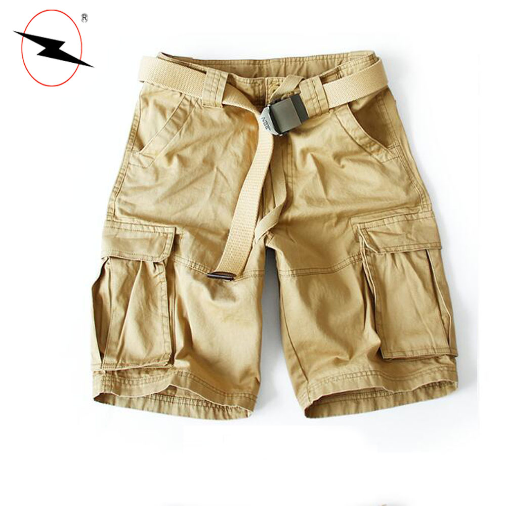 Match garments half pants for men cargo shorts and trousers