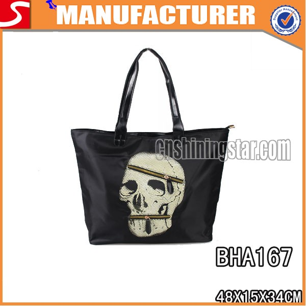 New Arrive PU Skull Shopping Bags For Women