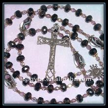 fashion crystal catholic rosary