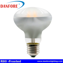 Dimmable 3.5W 6W 8W Sapphire Filament bulb lamps r80 led lights