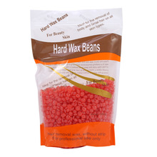 300g Depilatory Wax Hair Removal Solid Hard Wax Beans Milk Flavor for Body Hair Epilation