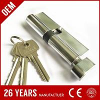 jiangsu cheapest zinc 70mm electrical panel lock key made in China
