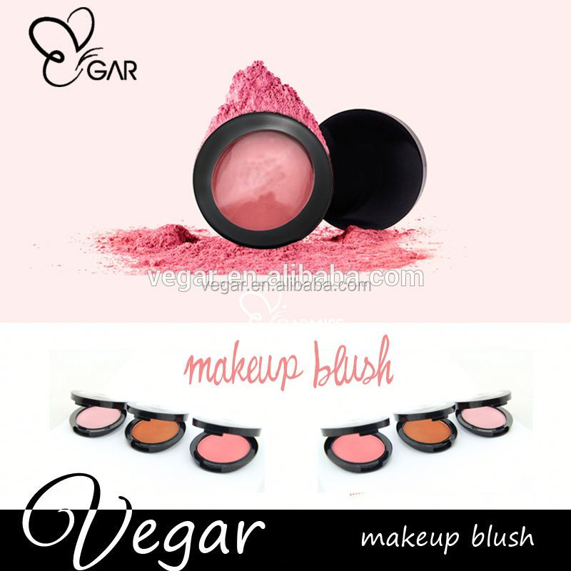 2015 new product No Logo Makeup Blush Face Smooth Powder