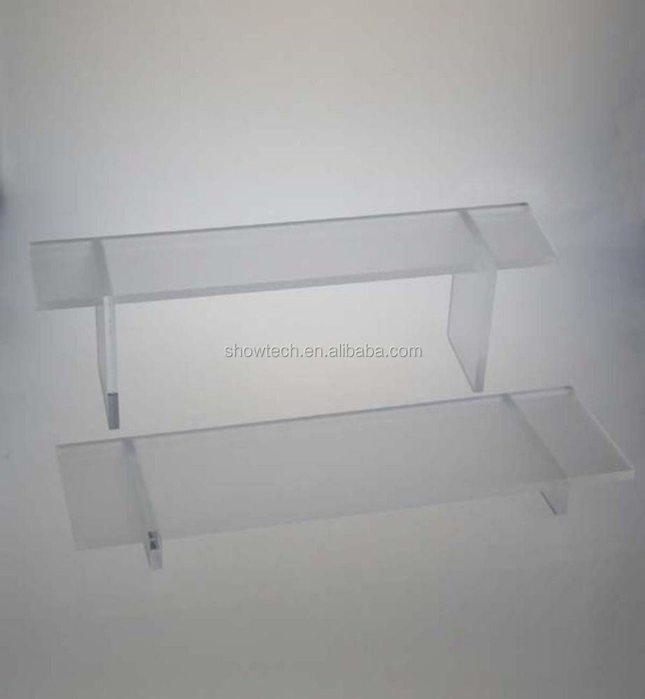Fashion Portable Type Showcase Table Series Frosted Acrylic Jewelry Display Riser ST-WRAK216MB E05