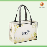 wholesale high quality grocery bag with zipper