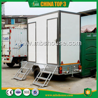 Hot Sale Outdoor Portable Toilets Popular Trailer Toilets