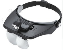 CE Approved LED Head Magnifier Hands Free Magnifier Spare Lens Available for Operation Interesting Handcraf MG81001-A