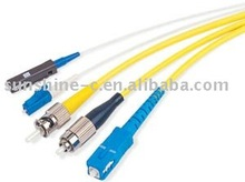SC/FC/LC/MU/ST Type Fiber Optic Patchcord For Optical Active Component