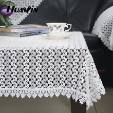 modern macrame water soluble embroidery table cloth