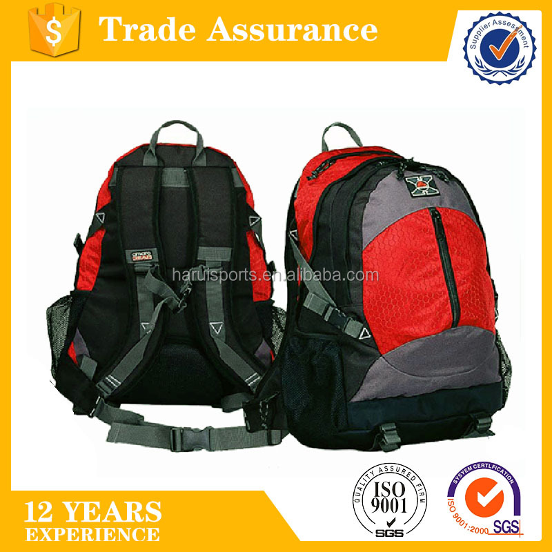 420D nylon ripstop and 1680D polyester ALPINE hiking backpack