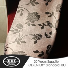 Brilliant quality factory price elegant jacquard blackout eyelet curtains
