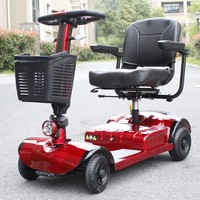 E folding one/two/three /four Wheel handicapped electric scooter ,gugo 15w 150cc 3-wheel scooter