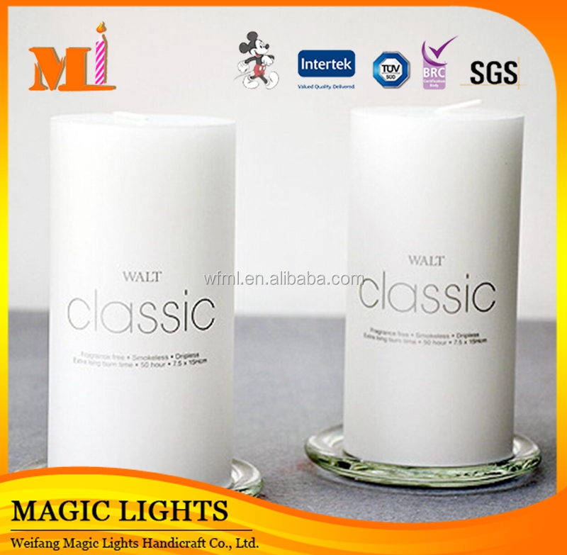 Factory Price China Professional Produce Customized White Candle With High Class Certificates