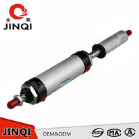 Aluminium adjustable stroke double acting pneumatic air cylinder price