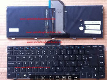 For Inspiron 14 3421 with frame,backlit SPANISH SP LAYOUT LAPTOP KEYBOARD NSK-L80BW 0S 9Z.N8TBW.00S 0FD9NR