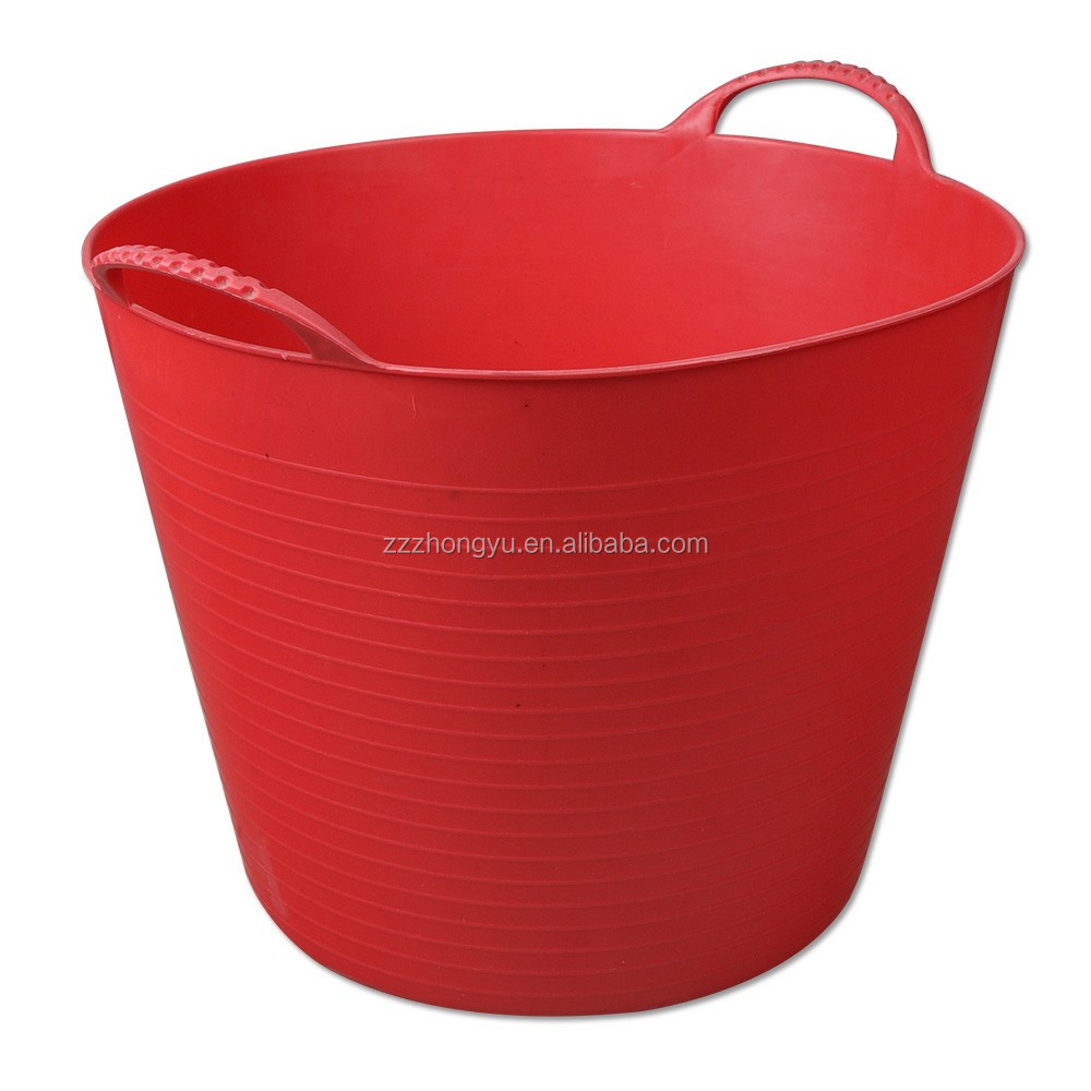 30L rubber horse feeding buckets