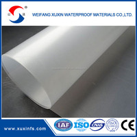 hdpe polyethylene sheet film in roll for waterproof membrane manufacturer suppliers