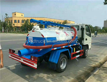 Dongfeng 12000L toilet waste disposing truck fecal suction truck for sale