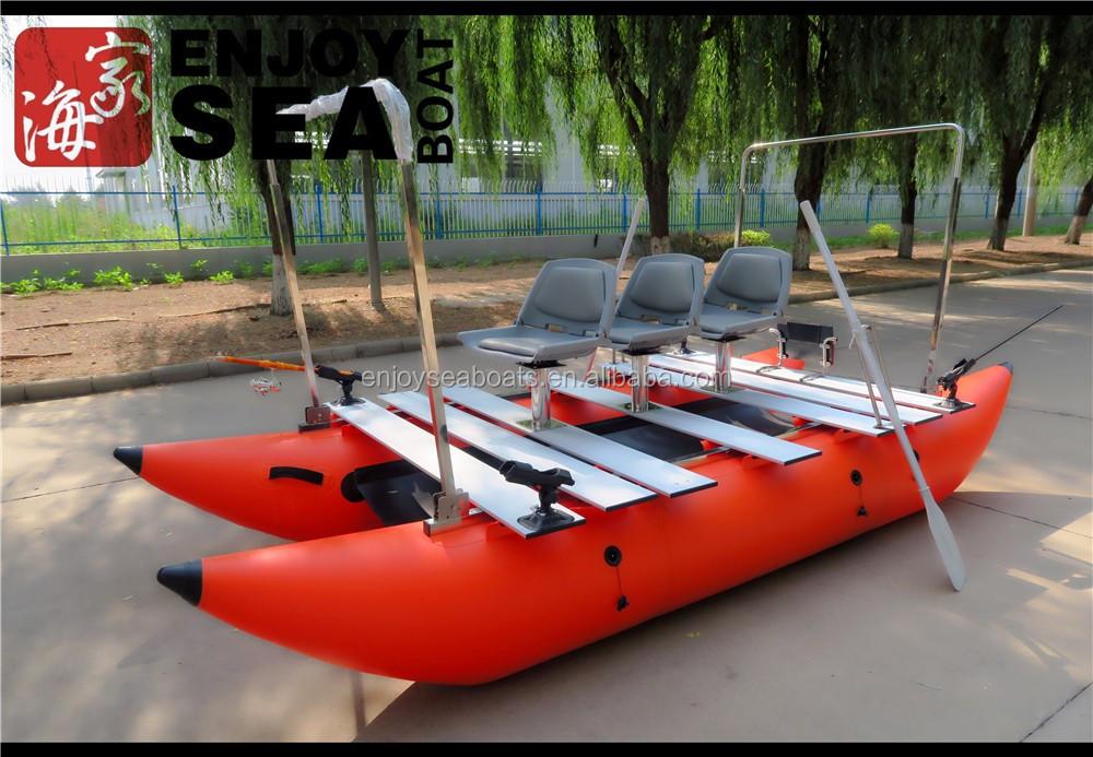 лодка катамаран 400