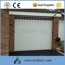 double aluminum automatic sandwich panel roll up shutter doors