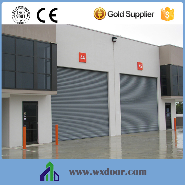 Main Gate Designs Windproof Door Steel Roller Door Price