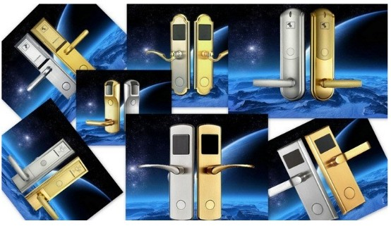 Top Quality Factory Sale! Zinc alloy High Sercurity bottom price RFID card hotel locks
