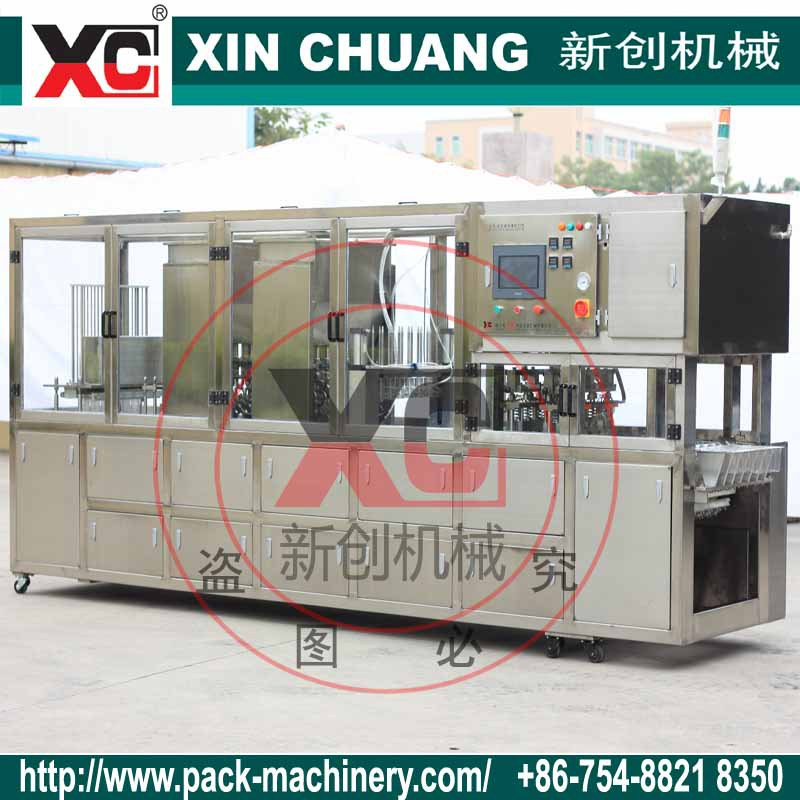 CFD-4 ready plastic cup wate filling sealing machine