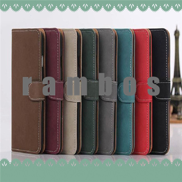 Book Wallet Type PU Leather Vintage Case Cover Phone Fundas for Samsung Galaxy S1 S2 S4 S4 Mini S5 Mini Note 3 Note 4