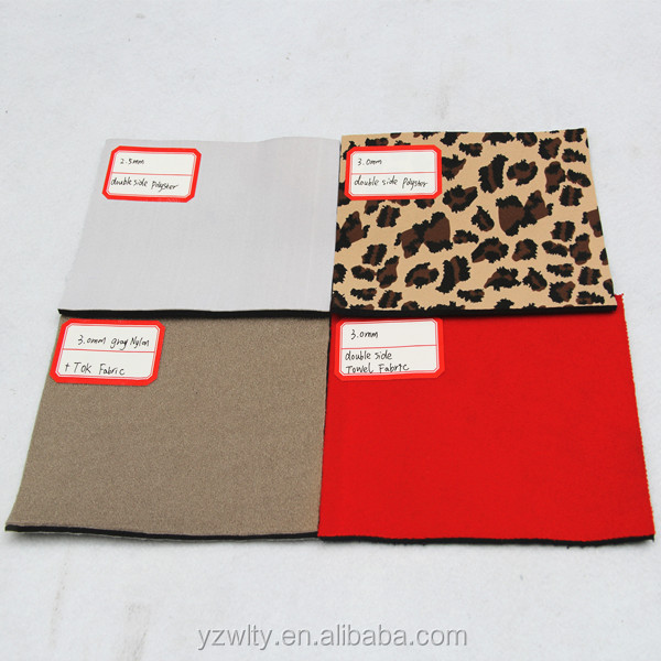 Neoprene foam rubber sheet fabric manufacturer in jiangsu