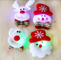 SDL015 top selling lighted christmas gift item christmas decoration jewelry trend best selling christmas gift brooch