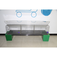 2017 new design convenient assembly steel rabbit cages/hutch equipment for poultry farm