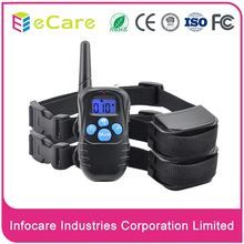 High quality PVC 300m range dog electronic shock training collar