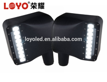 Hot sales !! Black New design led door mirror covers for Wrangler side mirror lights