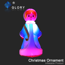 new 2017 products inflatable christmas ornaments inflatable snowman
