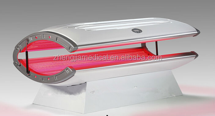 zhengjia medical best selling!!!!!!!!!!!Sun Bath Solarium Skin Tanning Bed tan machine 24pcs UV lamp!solarium tanning bed